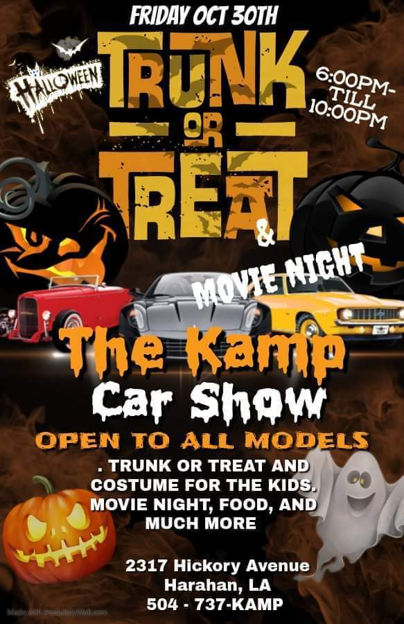 Trunk Or Treat & The Kamp Car Show