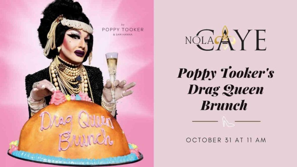 Poppy Tooker's Drag Queen Brunch