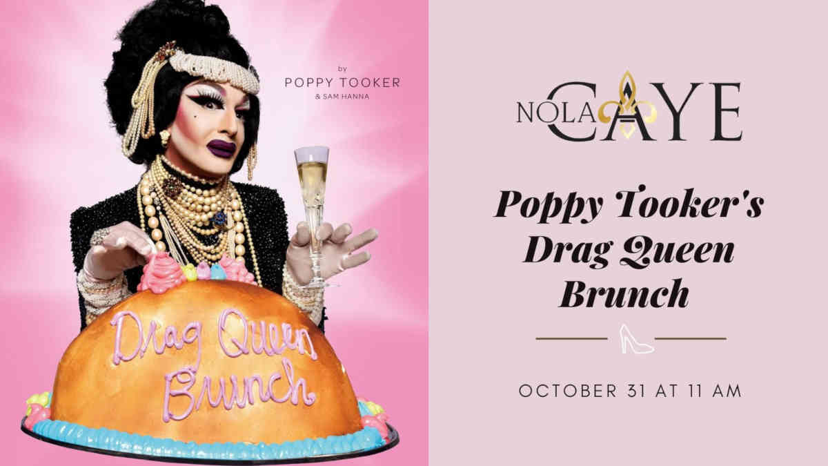 Poppy Tooker's Drag Queen Brunch