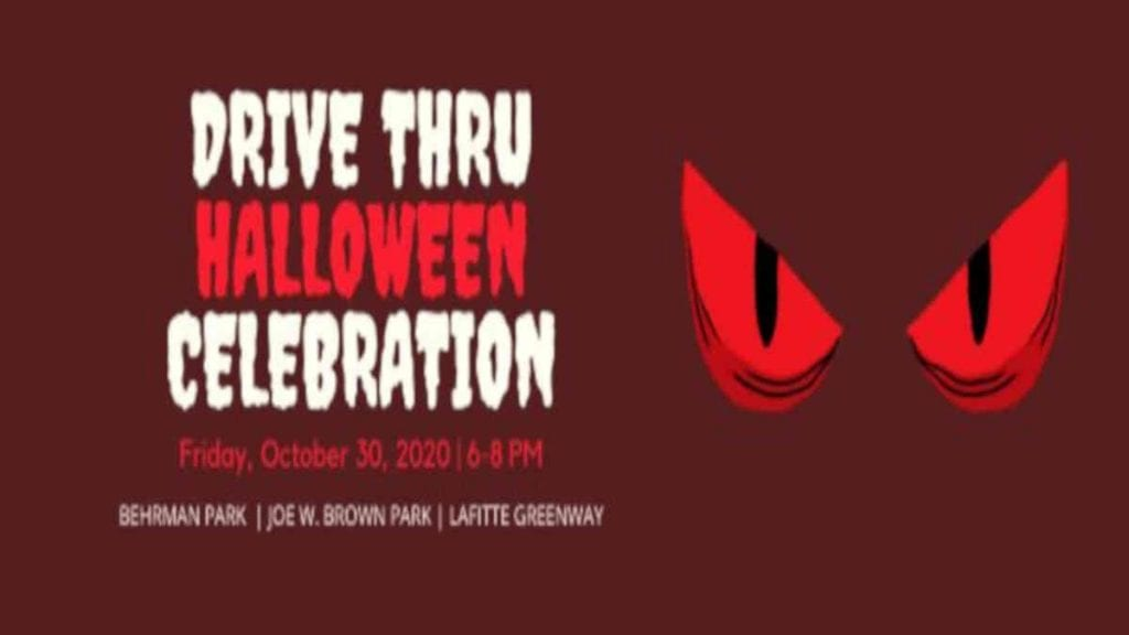 Drive Thru Halloween Celebration at Behrman Park