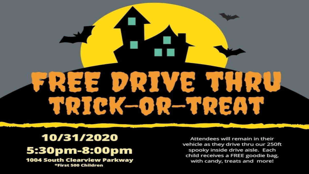 Free Drive Thru Trick or Treat