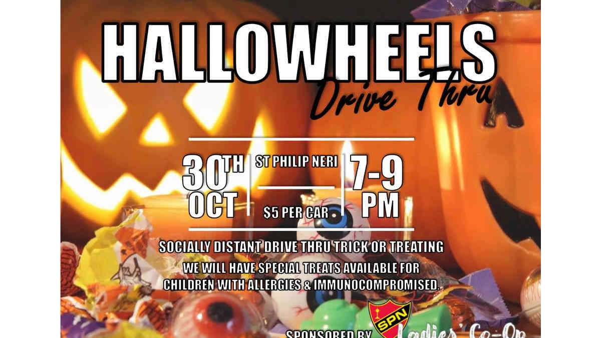 HalloWheels Drive Thru Truck or Treat
