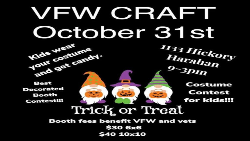 Halloween Craft Fair