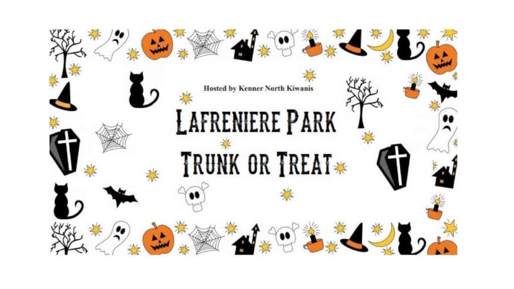 Lafreniere Park Trunk or Treat 2020