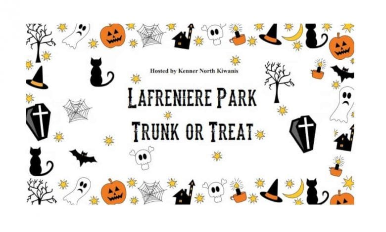 Lafreniere Park Trunk or Treat 2020