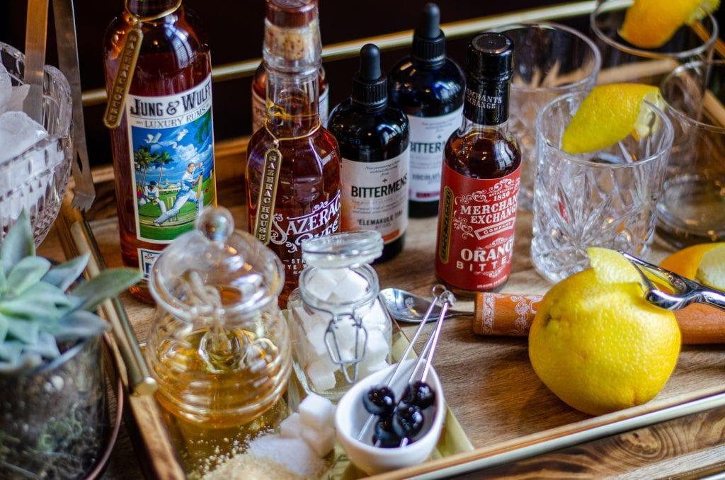 Build an Old-Fashioned Bar - Sazerac House