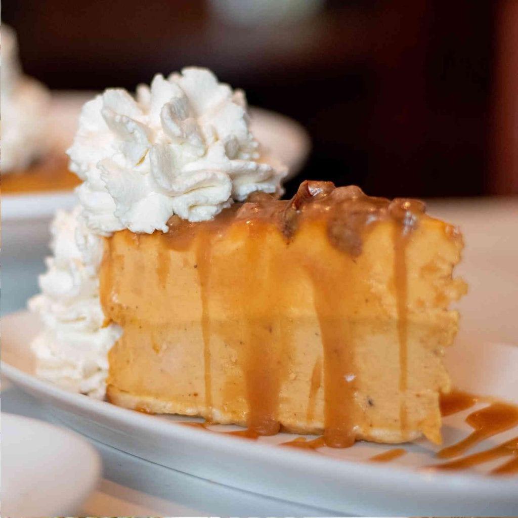 A Copelands Thanksgiving - Pumpkin Cheesecake
