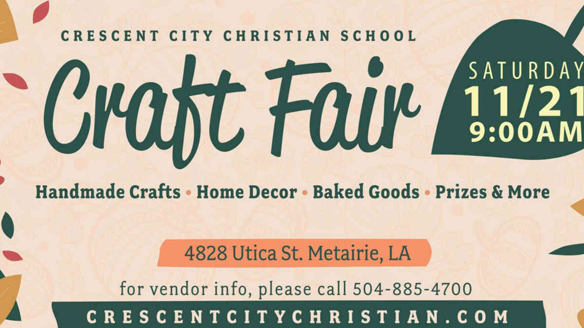 Crescent City Christian Craft Fair