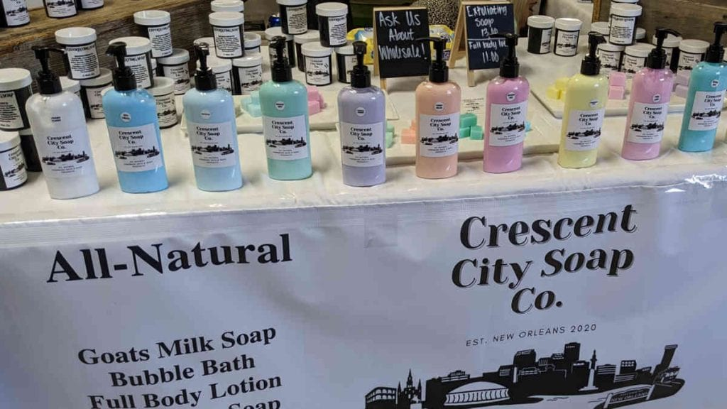Crescent City Soap Company | Don't Give Up On The Holidays