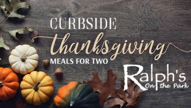 Curbside Thanksgiving Meal For Two Ralphs on the Park
