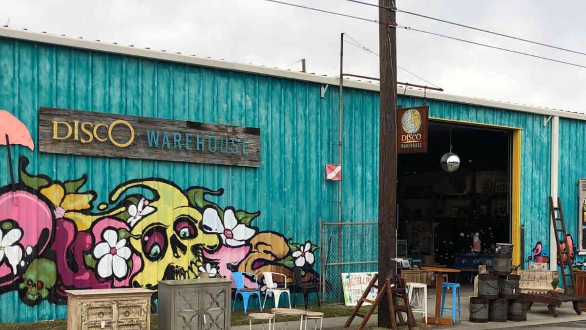 Disco Warehouse pop up Market Exterior Photo