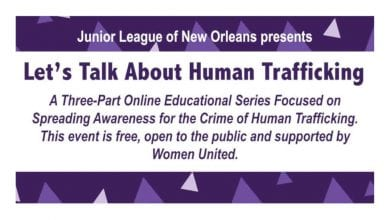 Photo of Let's Talk About Human Trafficking Series- JLNO