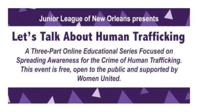 Human Trafficking - JLNO Event Series