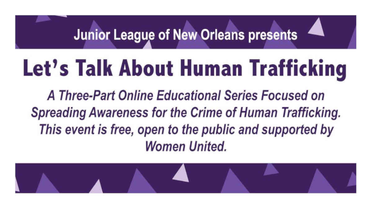 Human Trafficking - JLNO Event Series