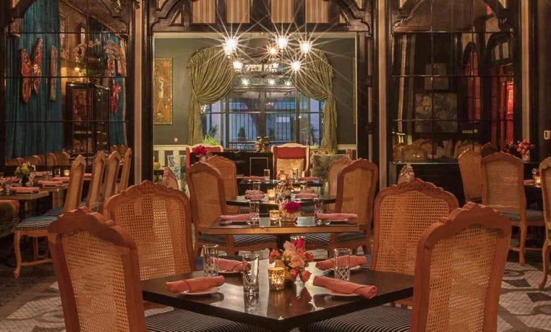 Jack Rose & Hot Ten Dining Room Thanksgiving