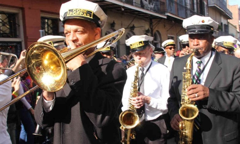 Mardi Gras 2021 - Marching Band With Trumpet