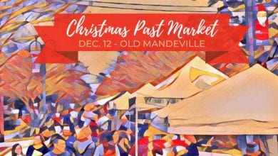Old Mandeville's Christmas Past Market 2020