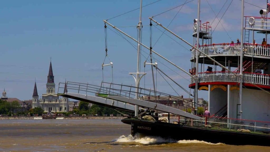Sailing With Santa & Steamboat Natchez