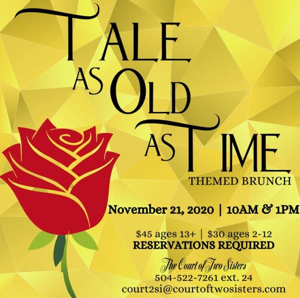 Tale As Old As Time Princess Brunch 2020