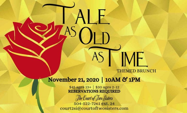 Tale as old as time themed brunch
