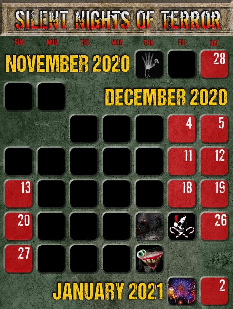 The Mortuary Christmas Calendar Psycho Asylum