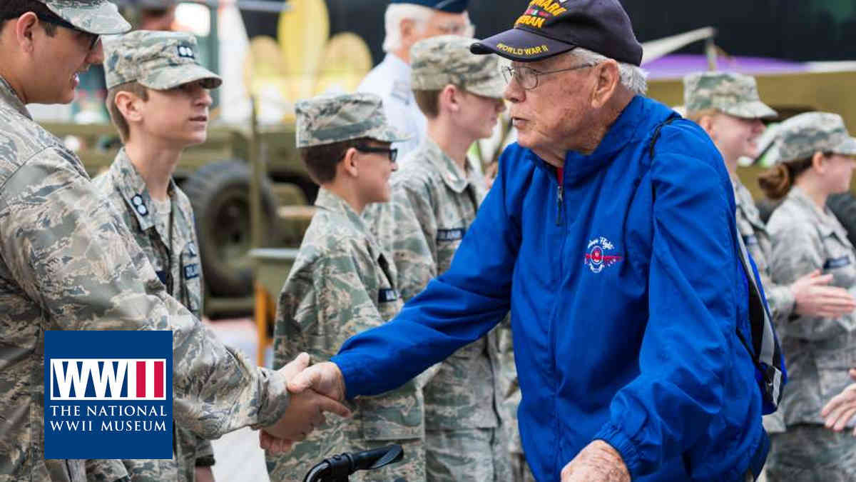 Veterans Day - WWII Museum n| Local Hero