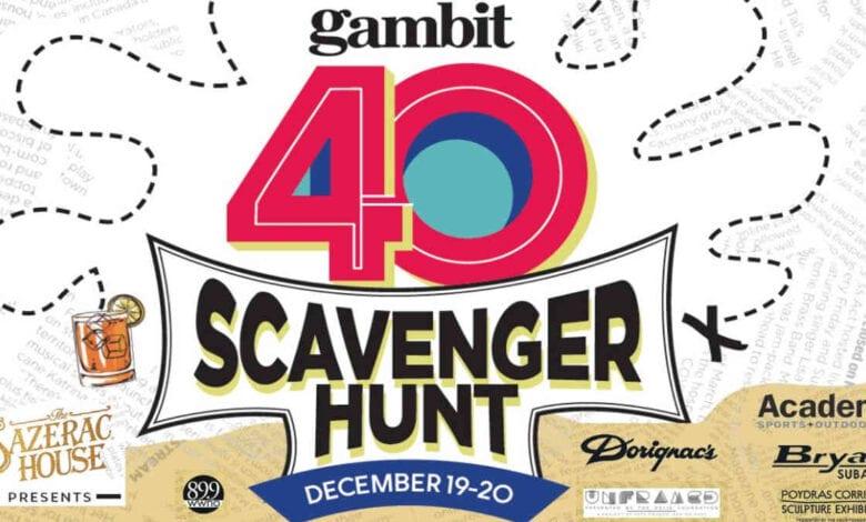 Gamit 40 Scavenger Hunt