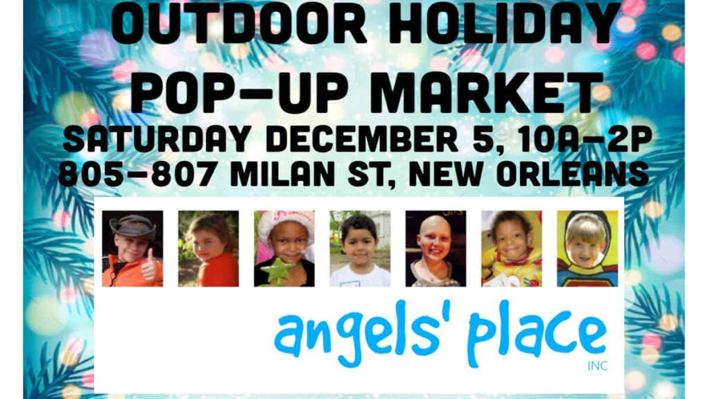 Outdoor Pop up holiday Market