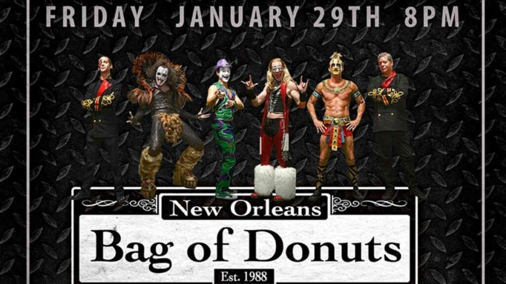 Bag Donuts LIVE