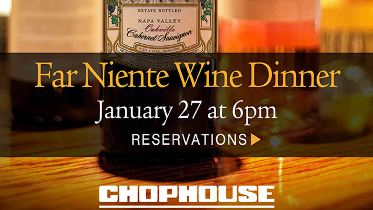 FAR NIENTE WINE DINNER