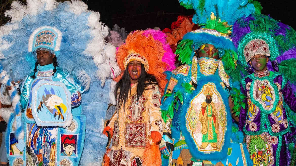 African American Masking and Spirituality in Mardi Gras