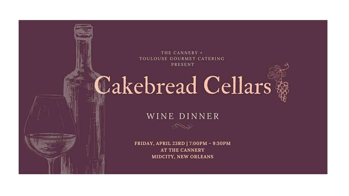 Cakebread Cellars Wine Dinner