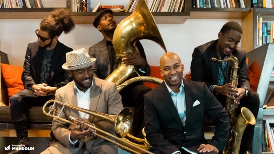 Adonis Rose & New Orleans Jazz Orchestra's NOJO7