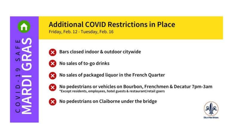 Covid 19 Rules Mardi Gras