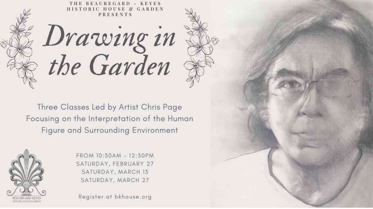 Drawing in the Garden with Artist Chris Page