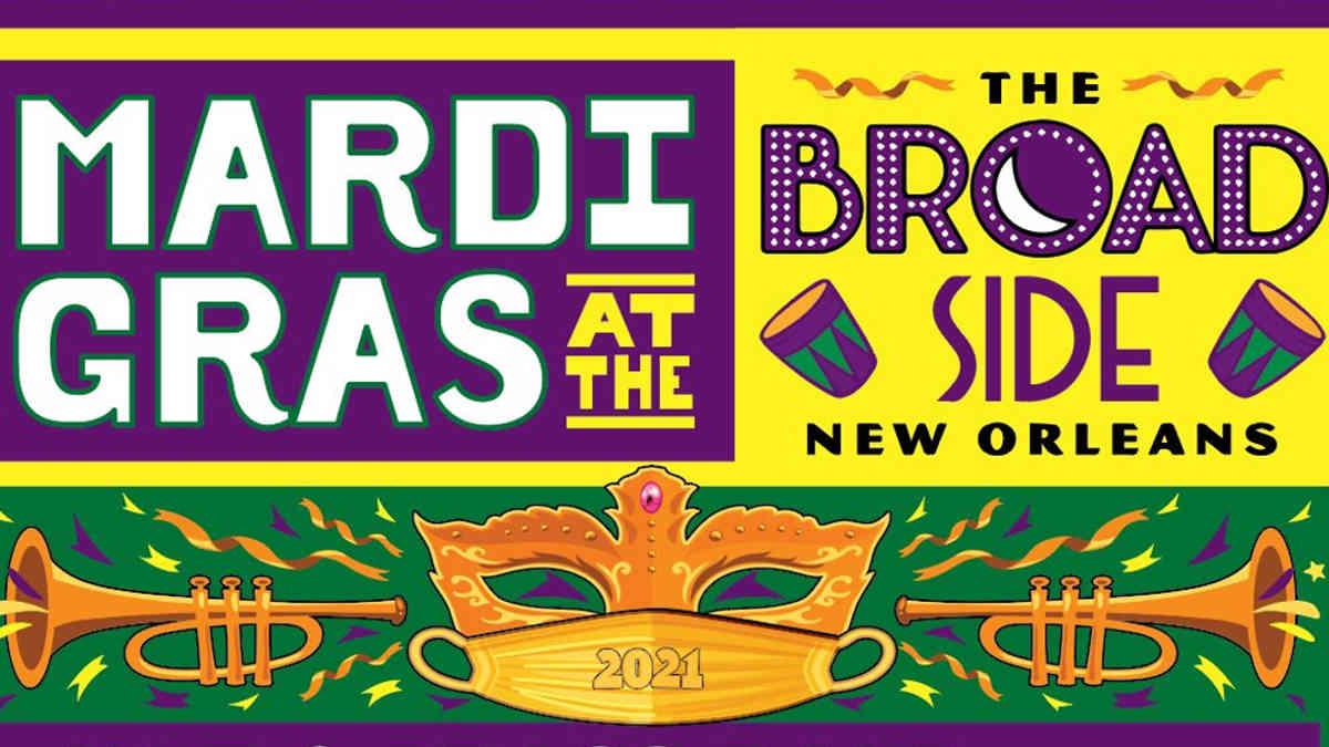 Mardi Gras at the broadside
