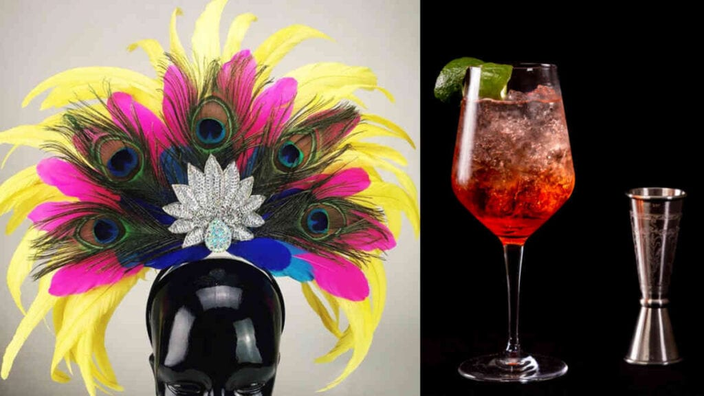 Sazerac House Events - Spirited Head Dress Workshop