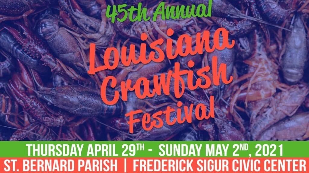 2021 Louisiana Crawfish Festival