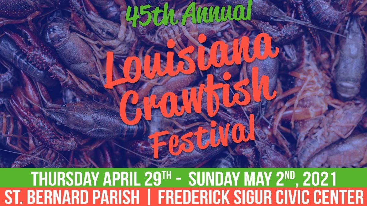 2021 Louisiana Crawfish Festival