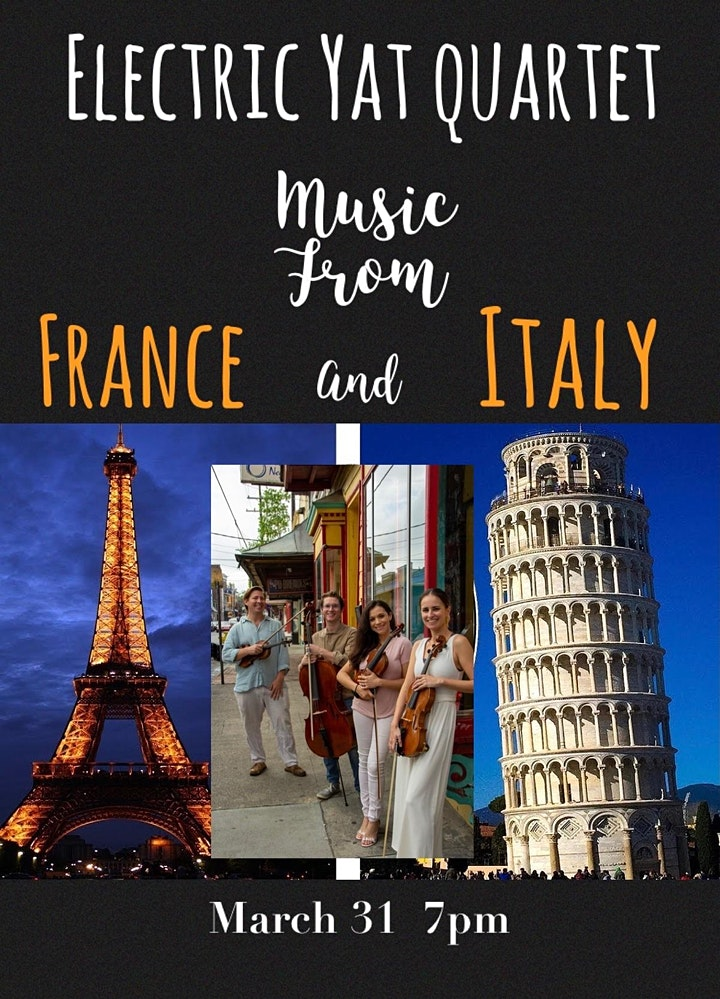 Concerts on Constance FRANCE & ITALY!