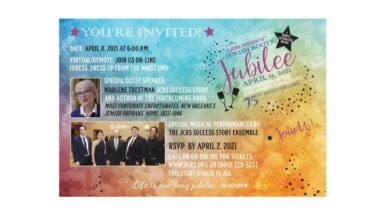 Jewish Roots Jubilee (virtual) Gala