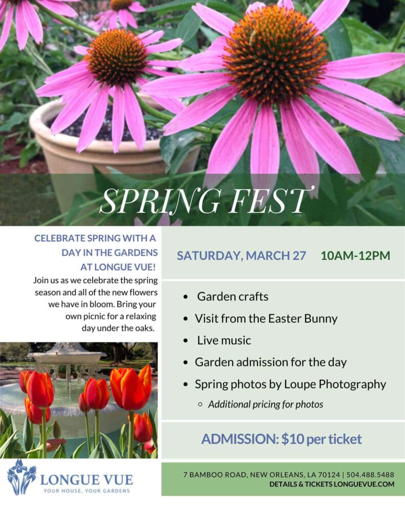 Spring Fest Longue Vue