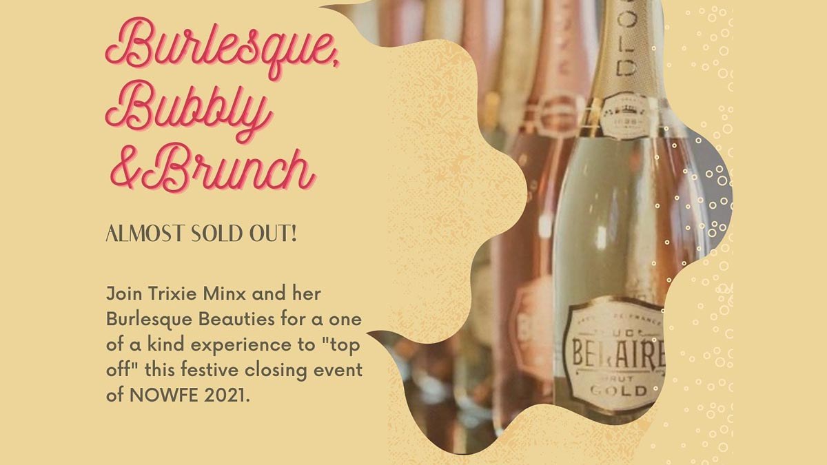 Burlesque, Bubbly and Brunch