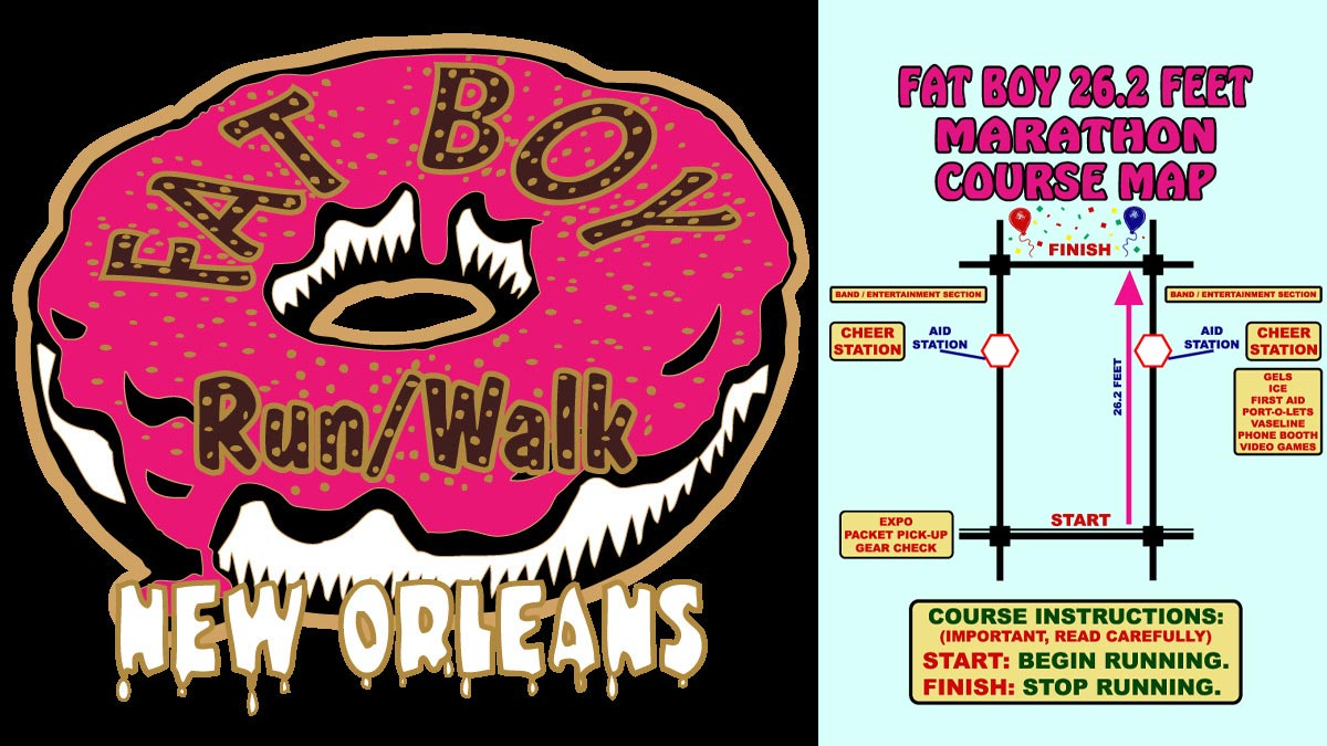 FAT BOY 5K New Orleans Run and Walk