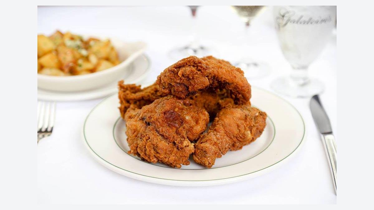 Fried Chicken Brunch at Galatoire's