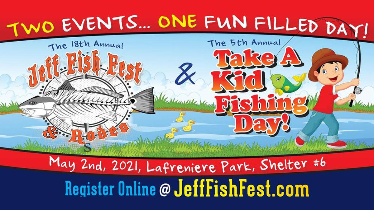 Jeff Fish Fest and Take A Kid Fishing Day