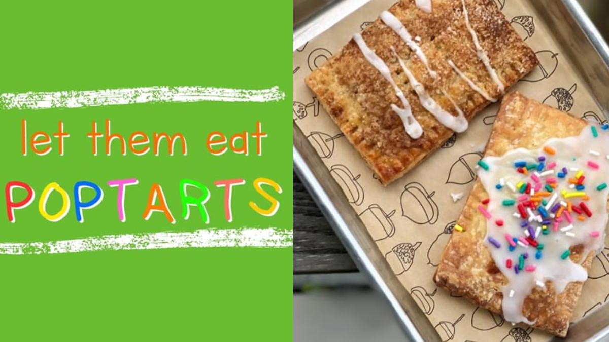 Kid's Table Cooking Series Mommy and Me Pop tart Breakfast