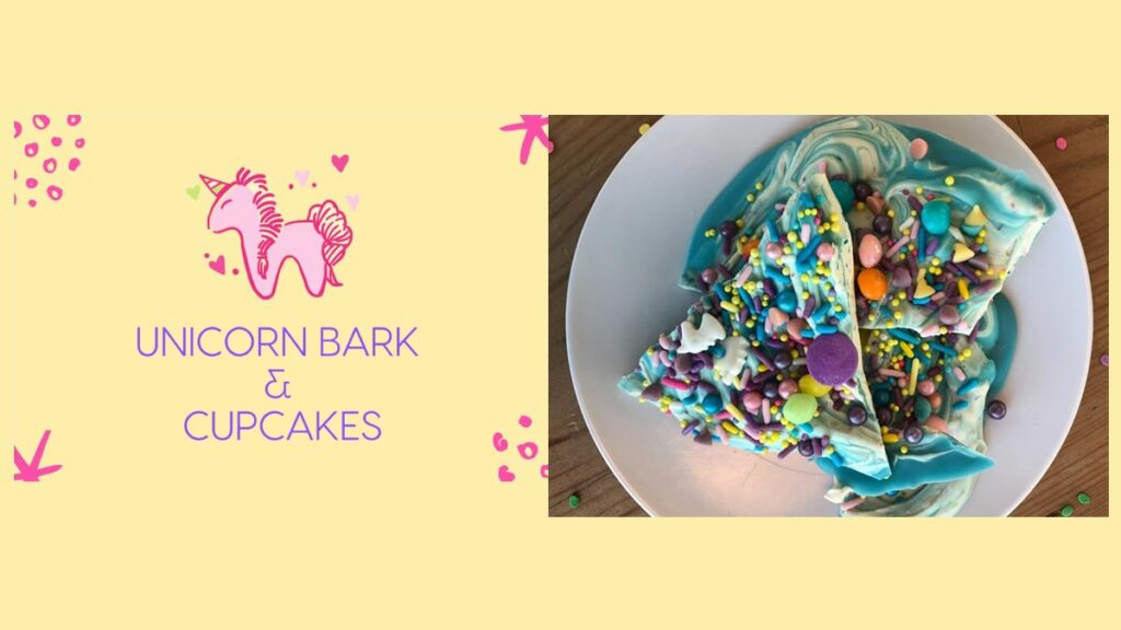Kids Table Cooking Series - Unicorn Bark and Cupcakes