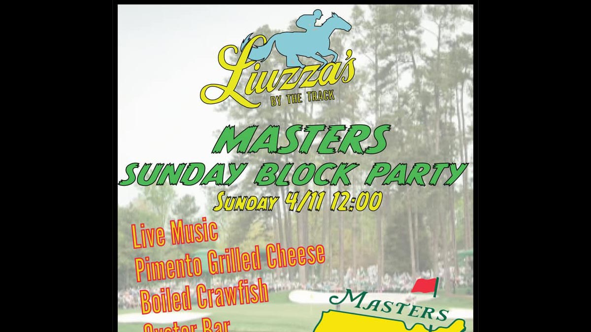 Masters Sunday Block Party
