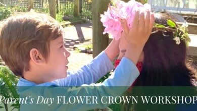Parent's Day Flower Crown Workshop